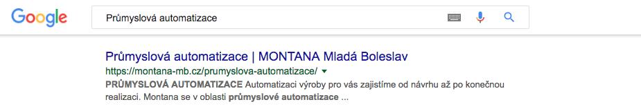 SERP ukazka montana-mb.cz